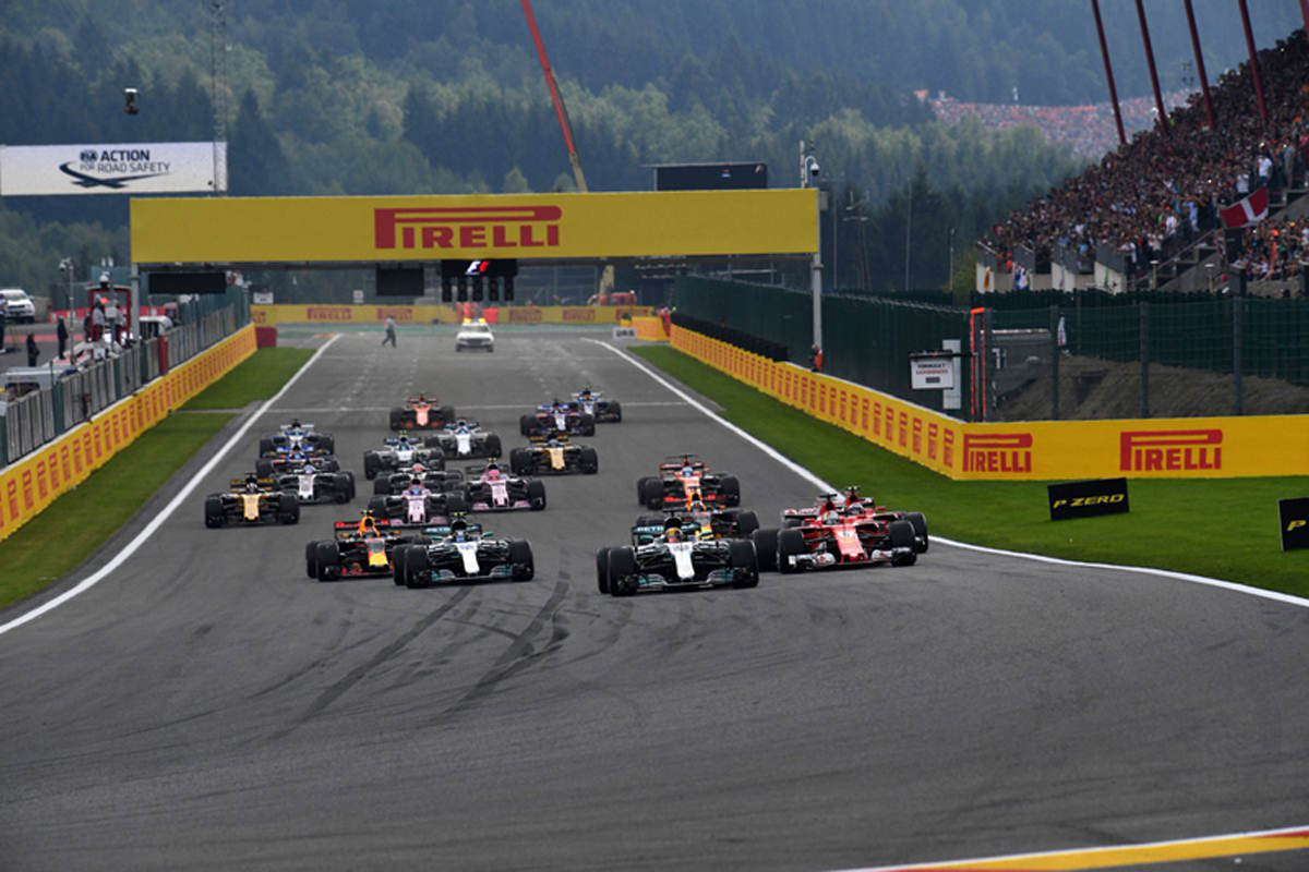 F1 ベルギーグランプリ