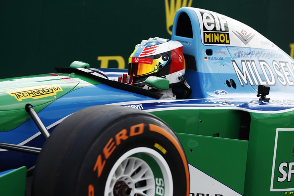 ミック・シューマッハ F1 ベルギーグランプリ