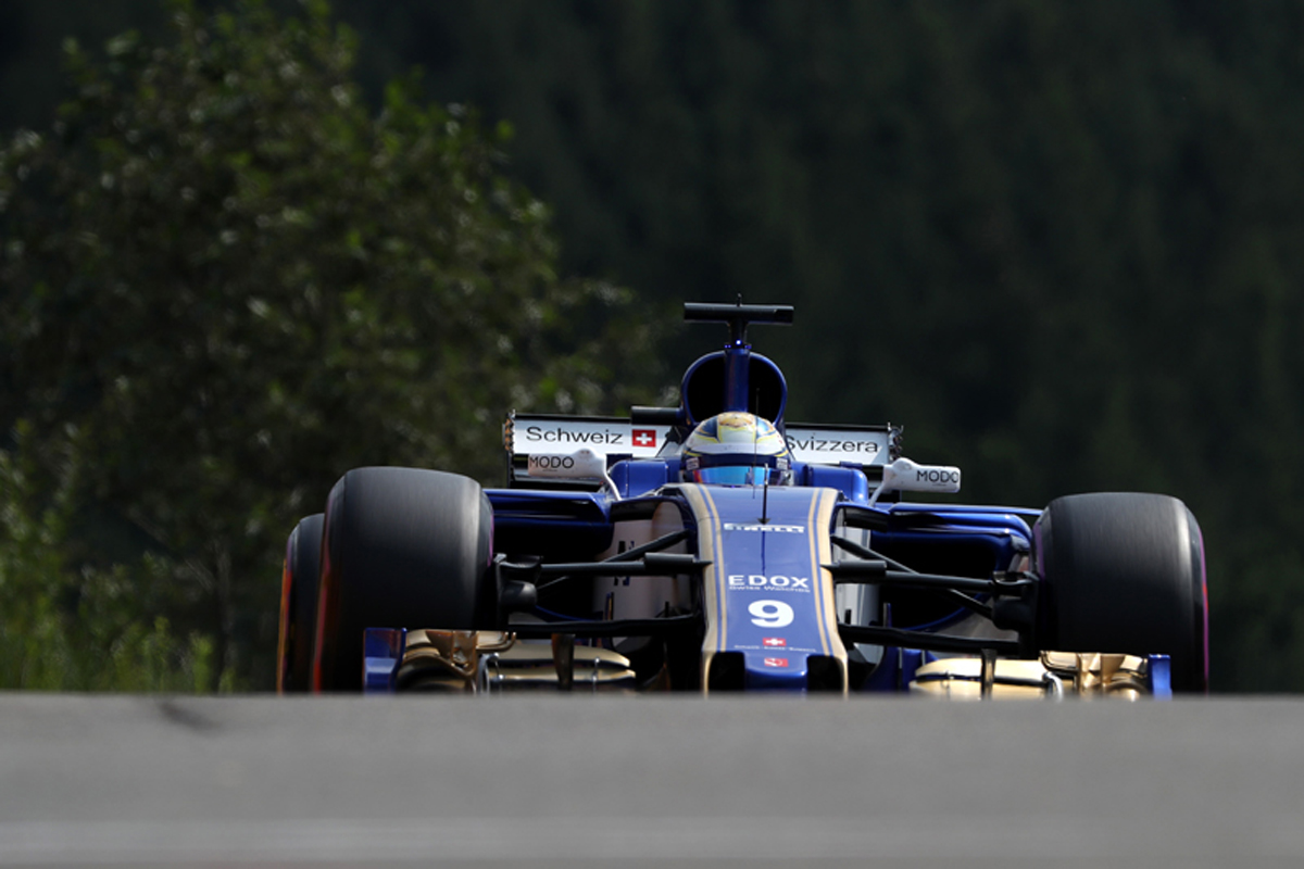ザウバー F1 ベルギーグランプリ