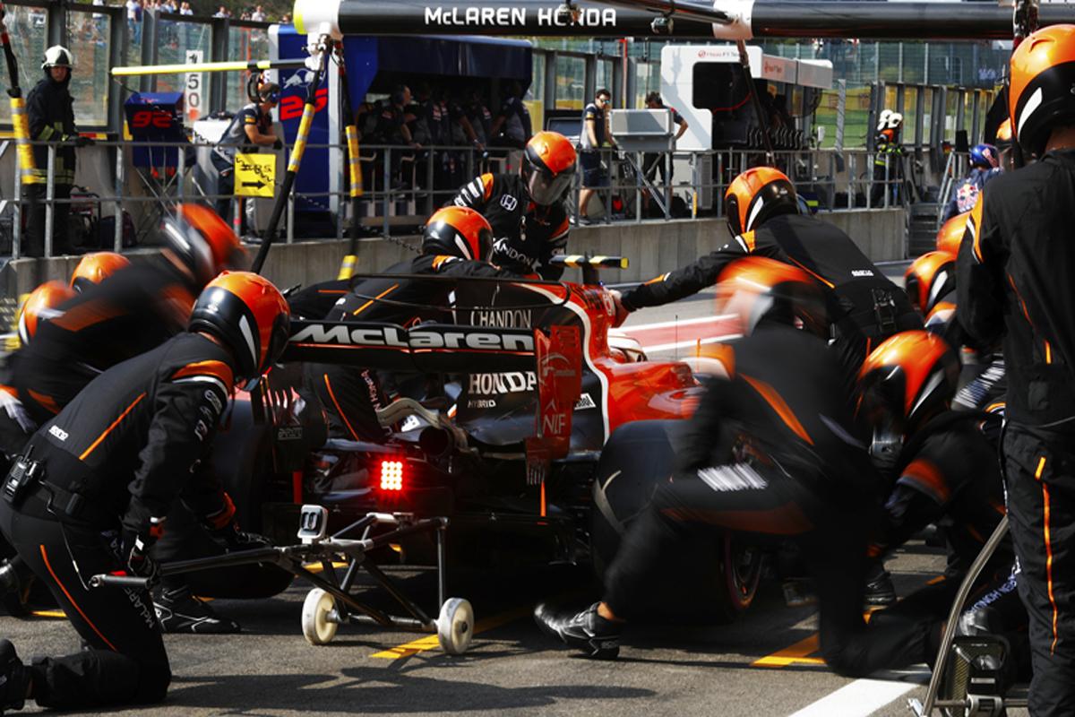 マクラーレン ホンダF1 イタリアグランプリ