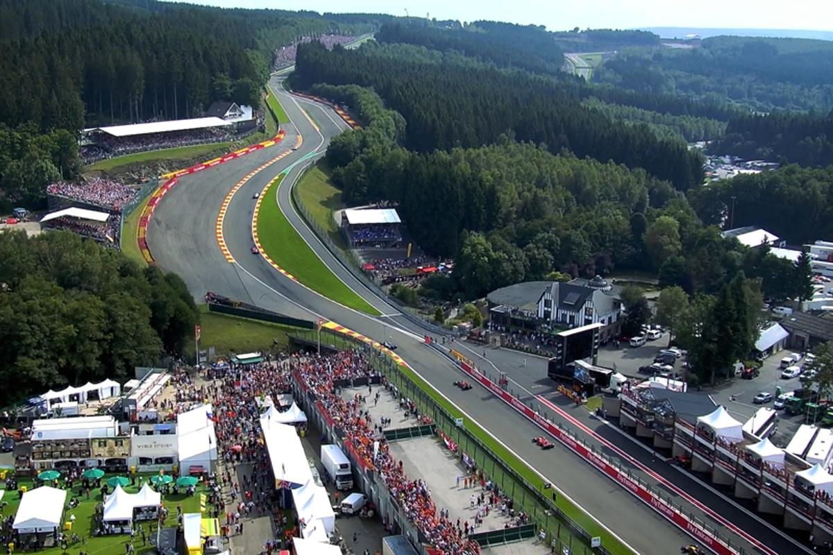 F1 ベルギーグランプリ スパ・フランコルシャン