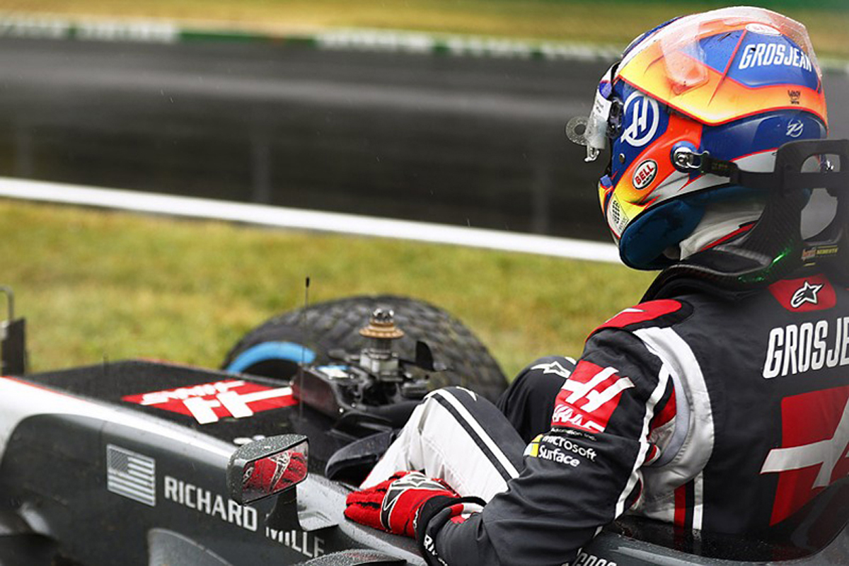 ロマン・グロージャン ハースF1 イタリアグランプリ