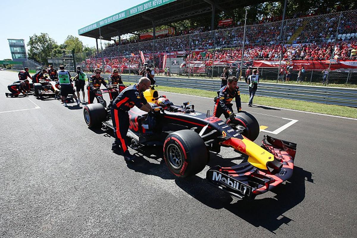 F1 グリッド ペナルティ