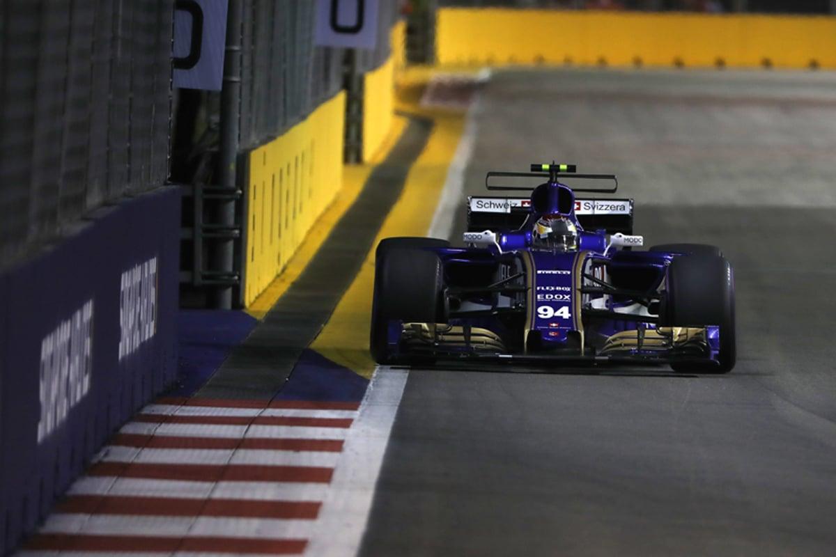 ザウバー F1 シンガポールグランプリ