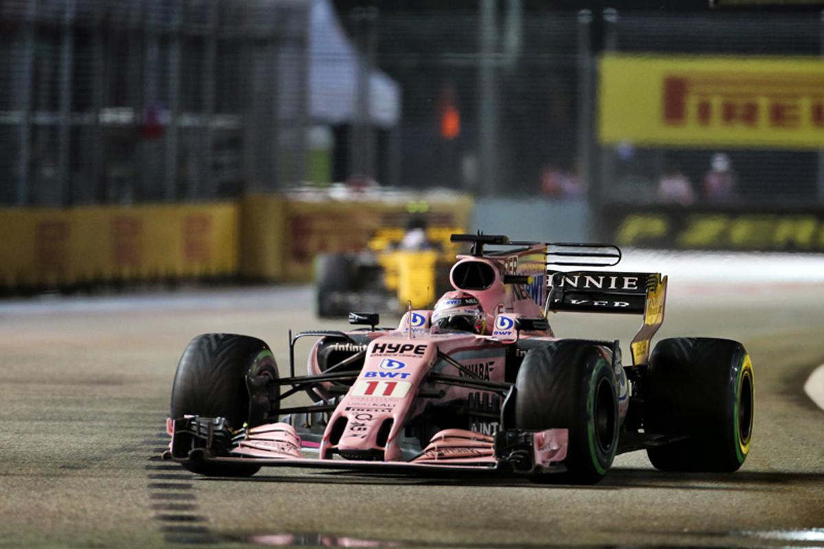 フォース・インディア シンガポールグランプリ セルジオ・ペレス