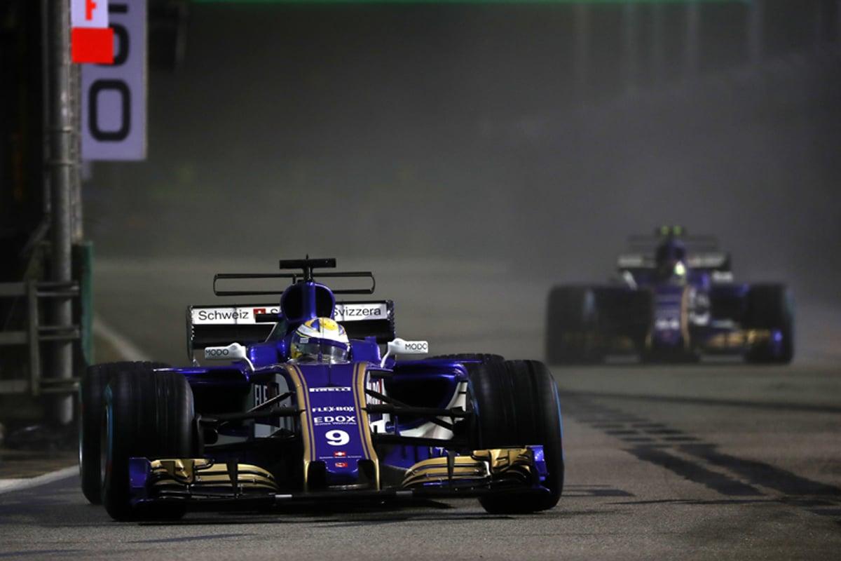 ザウバー シンガポールグランプリ
