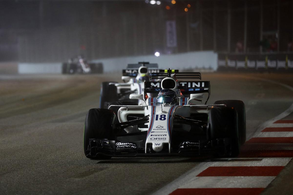 ウィリアムズF1 シンガポールグランプリ