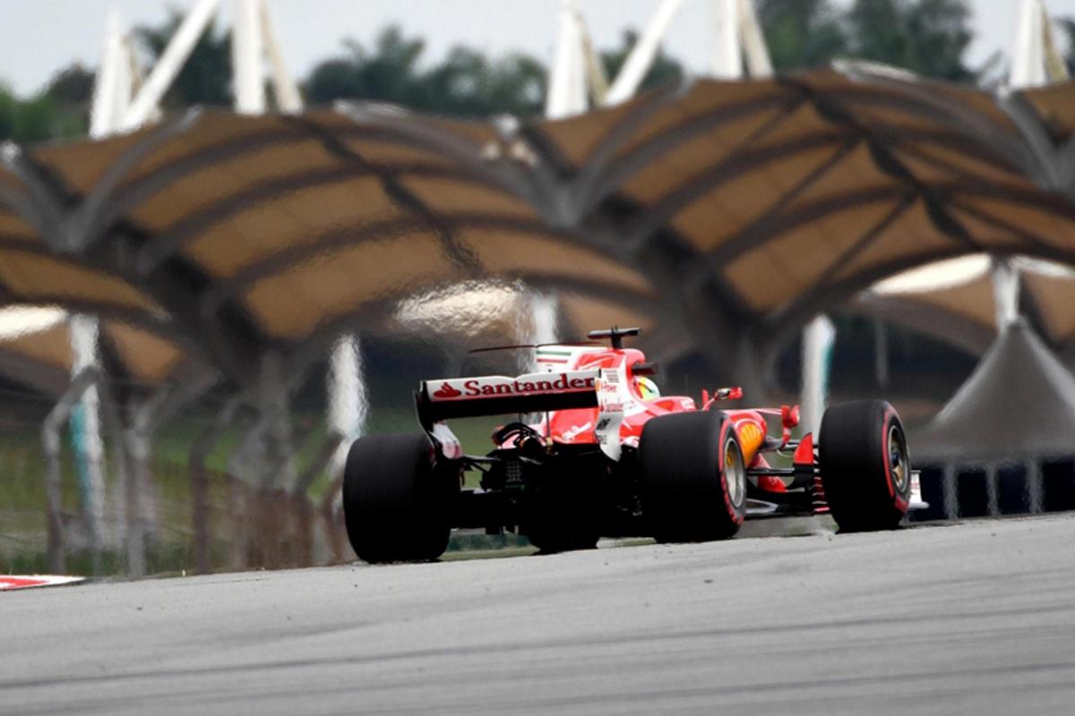 F1 マレーシアグランプリ セバスチャン・ベッテル