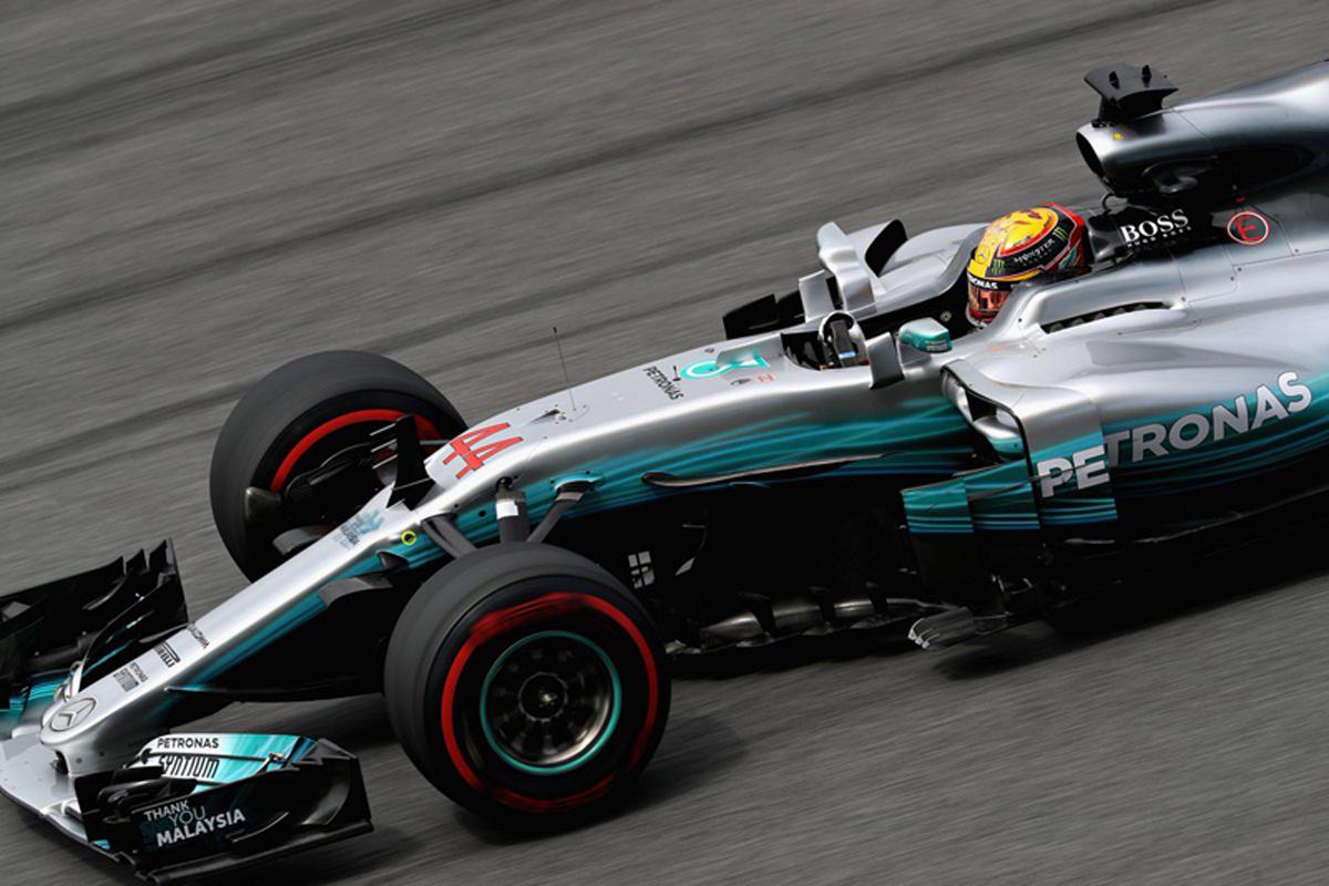 マレーシアグランプリ 2017年のF1世界選手権 ルイス・ハミルトン