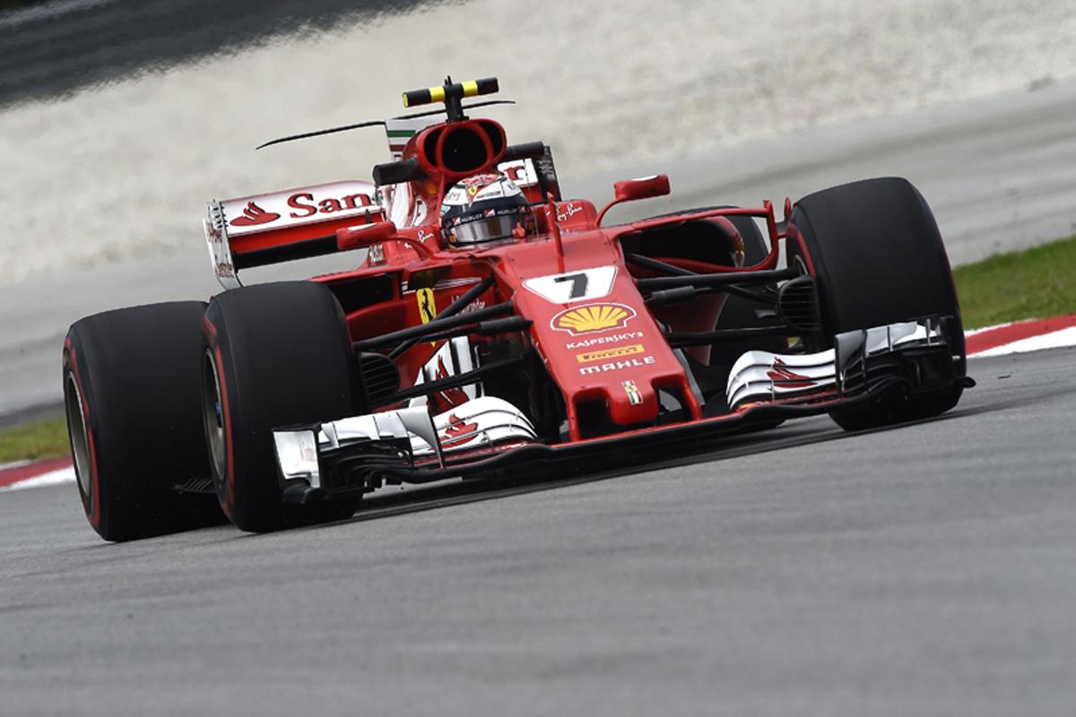 F1 マレーシアグランプリ キミ・ライコネン