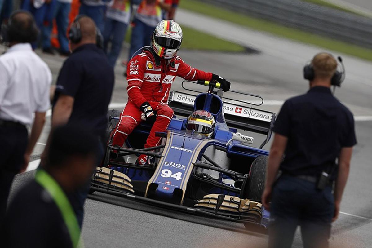 セバスチャン・ベッテル マレーシアグランプリ ランス・ストロール