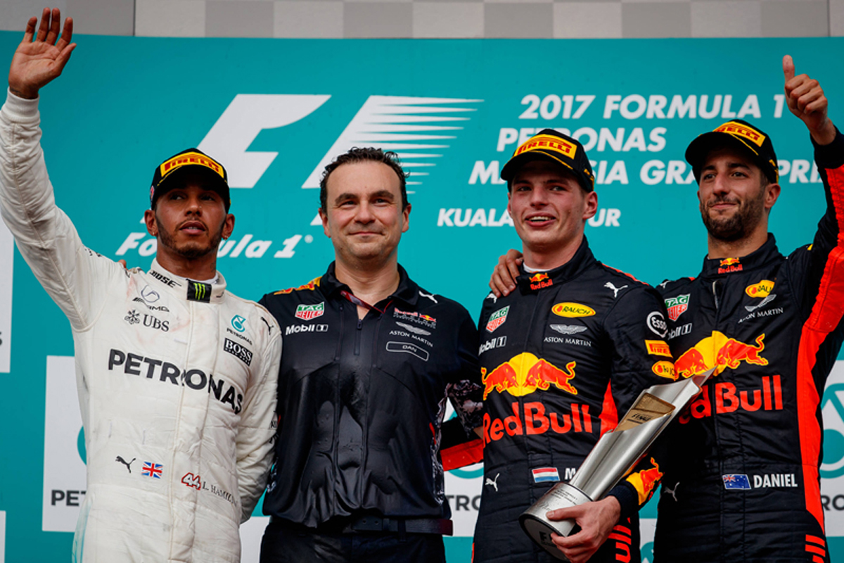 マレーシアグランプリ 2017年のF1世界選手権 フォーミュラ1