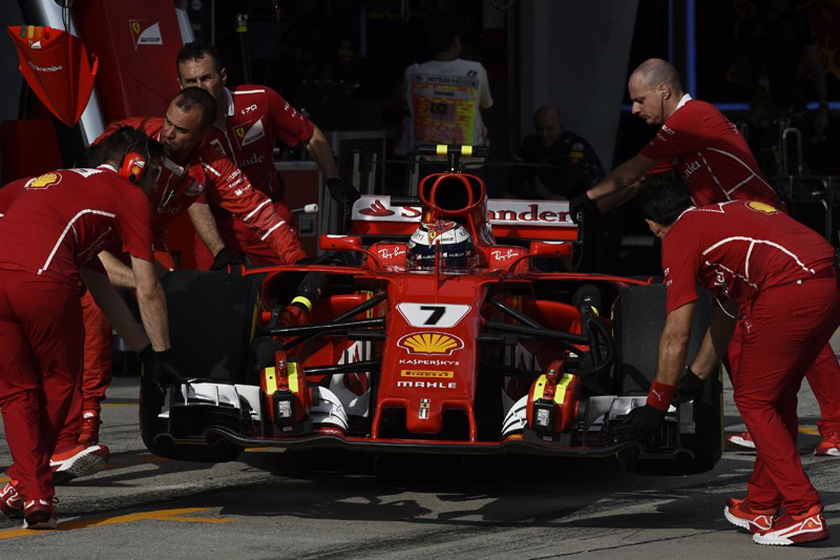 フェラーリ F1 マレーシアグランプリ