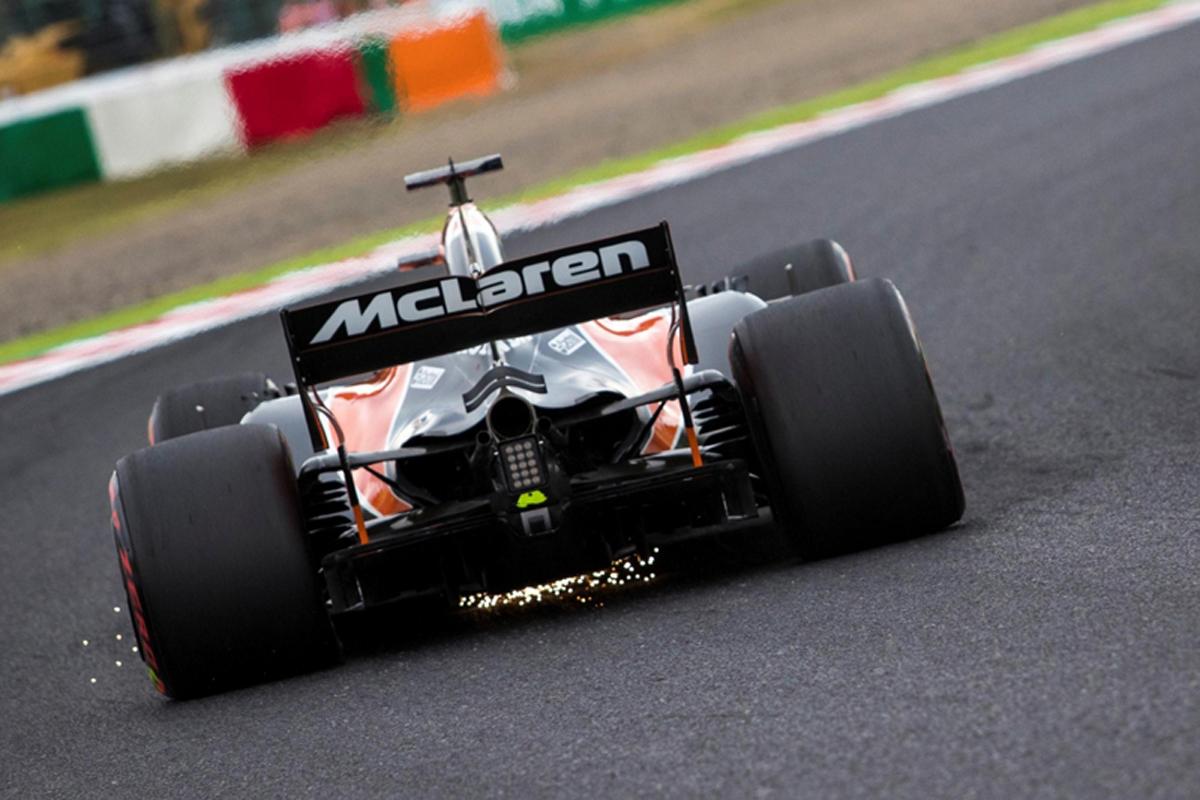 フェルナンド・アロンソ マクラーレン ホンダF1 日本グランプリ