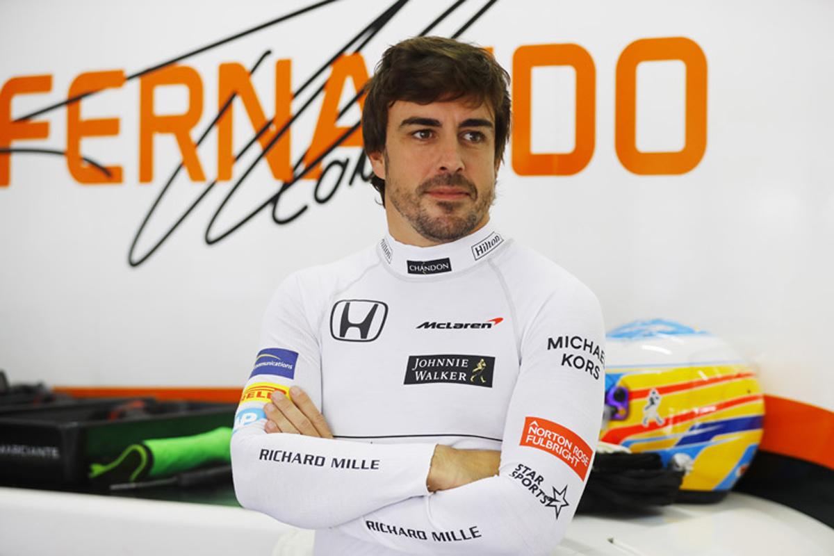 フェルナンド・アロンソ マクラーレン F1