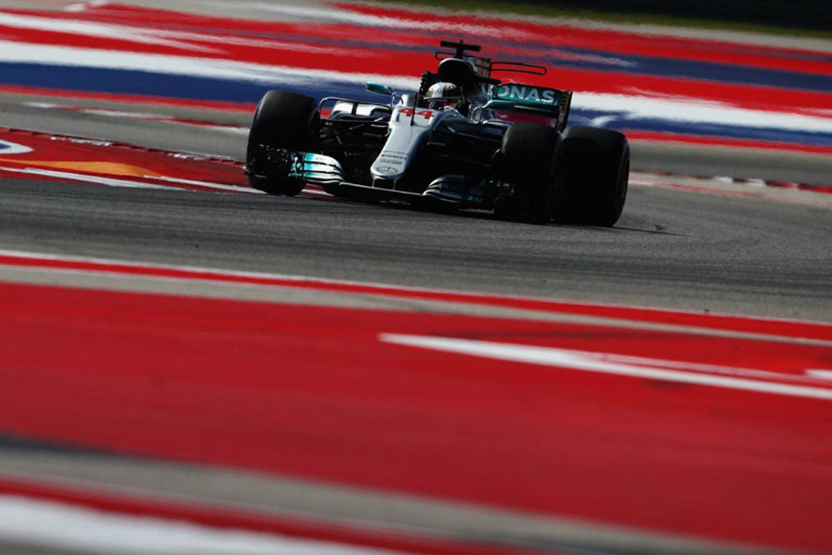 アメリカグランプリ ルイス・ハミルトン F1 予選