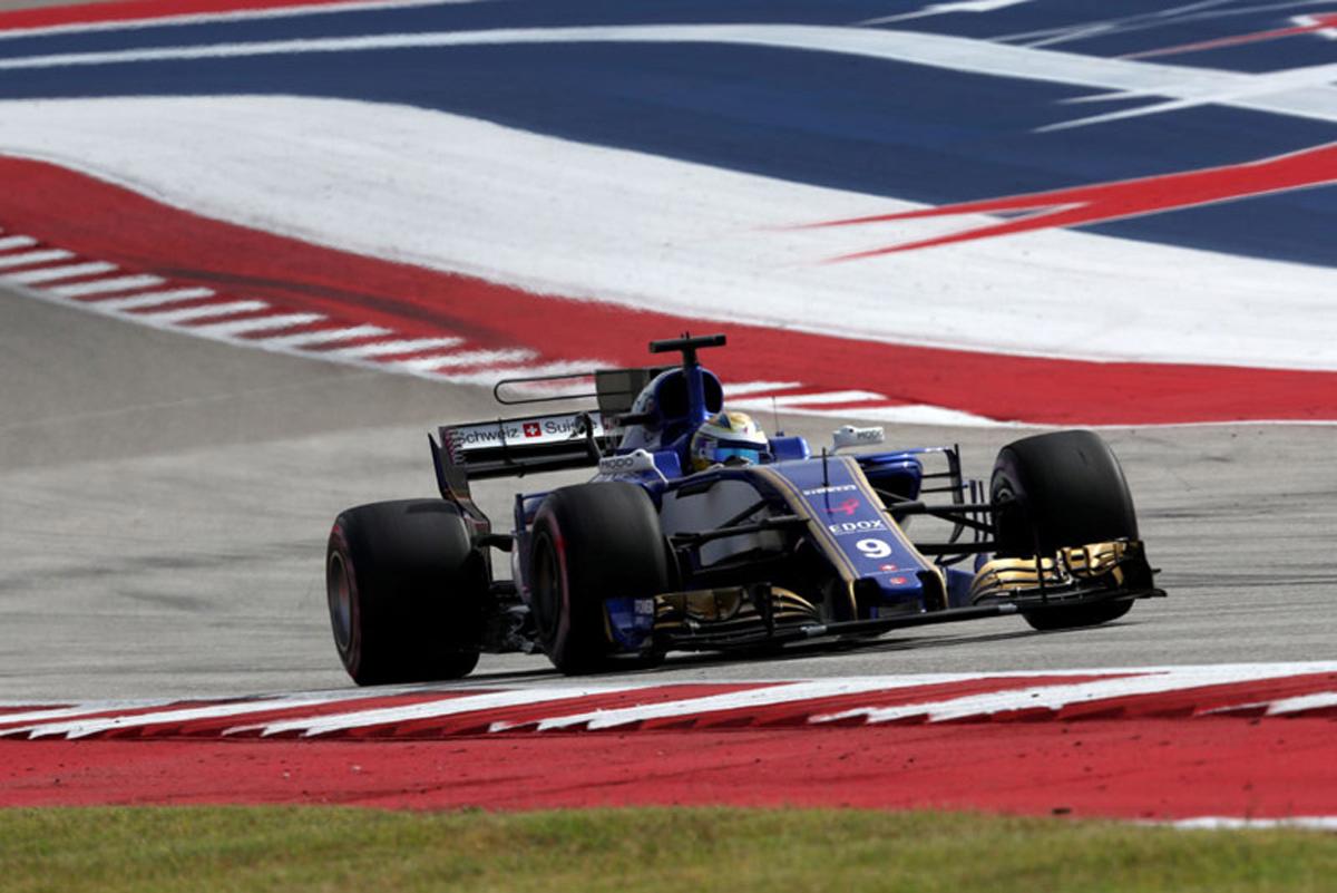 ザウバー F1 アメリカグランプリ