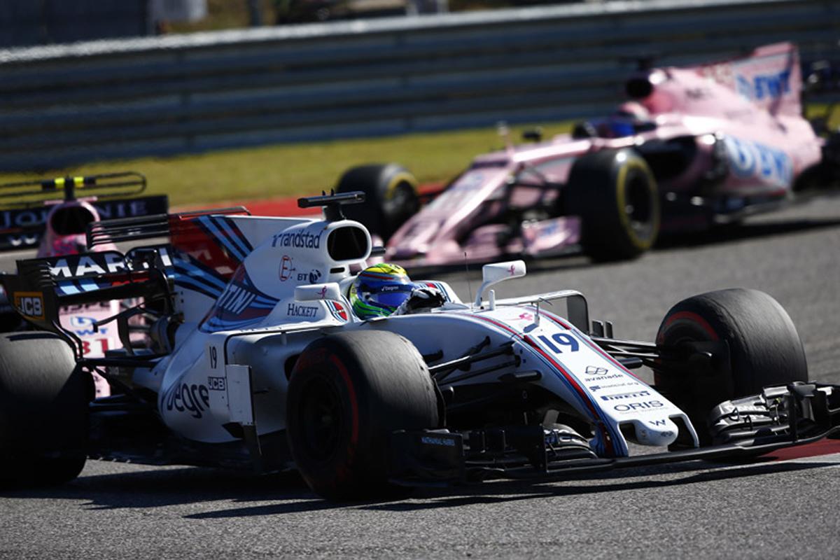 ウィリアムズ アメリカグランプリ フェリペ・マッサ ランス・ストロール