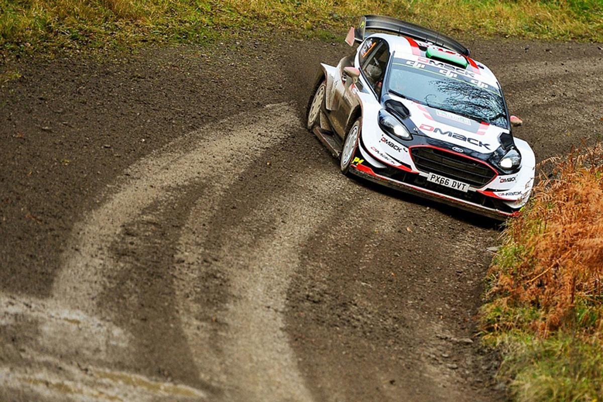 世界ラリー選手権 ウェールズ・ラリーGB WRC