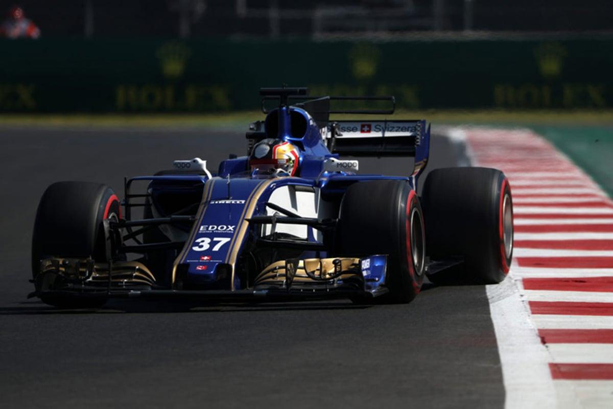 ザウバー F1 メキシコグランプリ