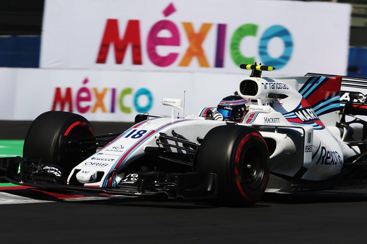 ウィリアムズF1 メキシコグランプリ