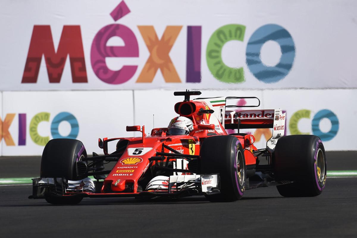 メキシコグランプリ セバスチャン・ベッテル 2017年のF1世界選手権