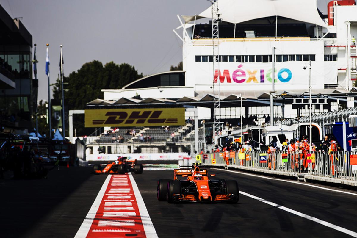 マクラーレン ホンダF1 メキシコグランプリ
