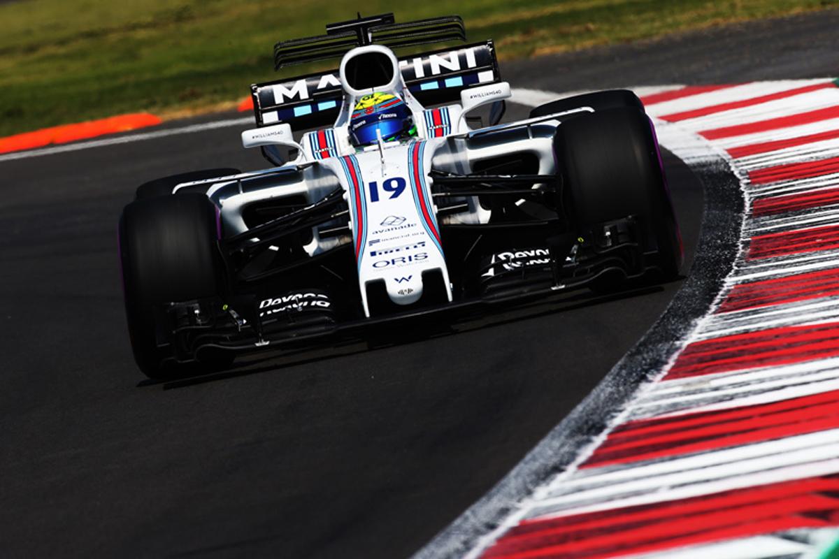 ウィリアムズF1 メキシコグランプリ フェリペ・マッサ