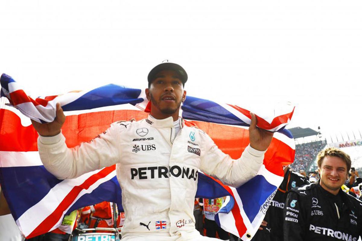 ルイス・ハミルトン 2017年のF1世界選手権