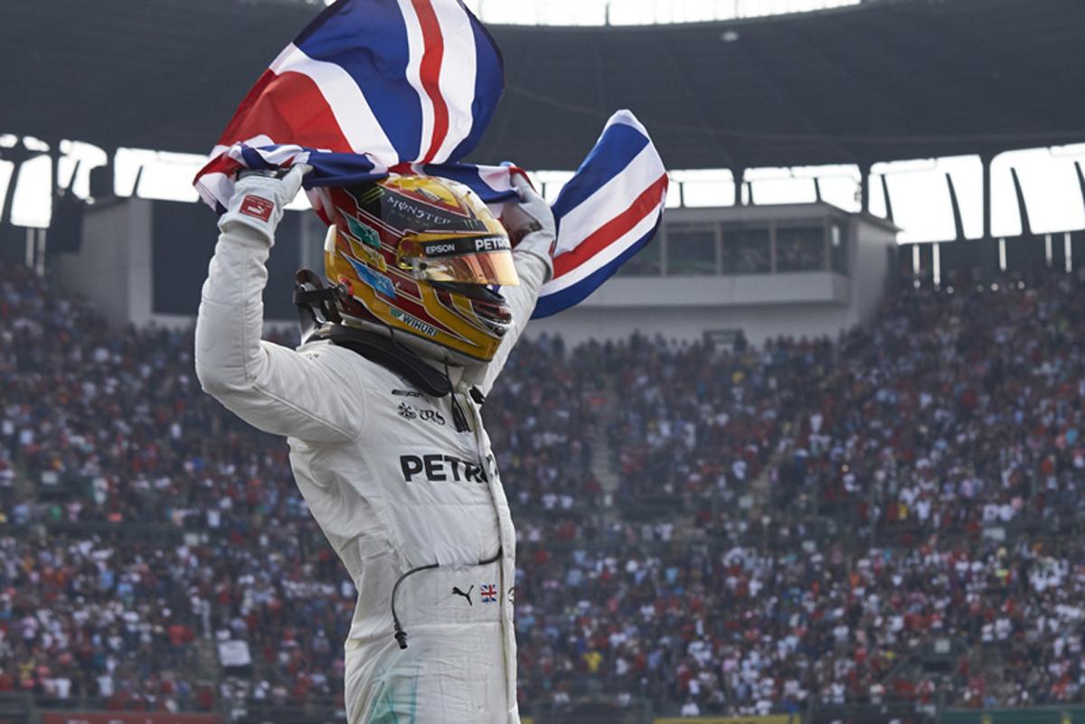 ルイス・ハミルトン メキシコグランプリ メルセデスAMG F1