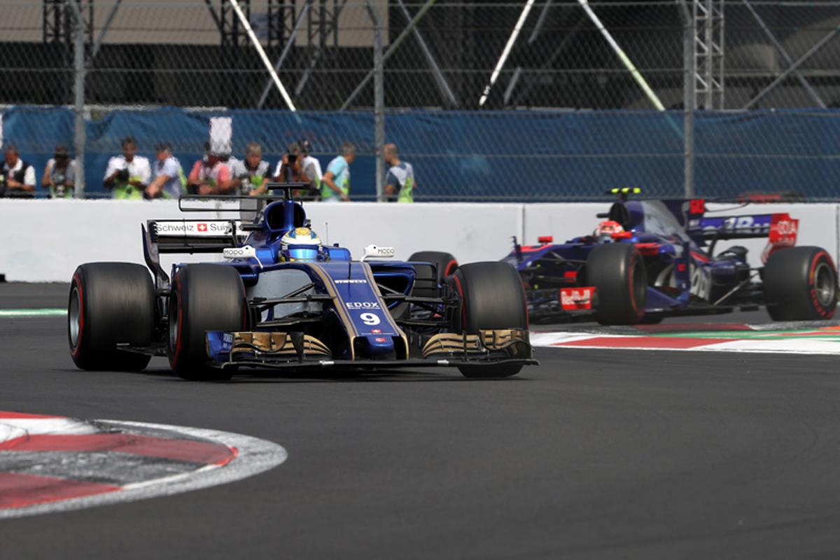 メキシコグランプリ F1 ザウバー