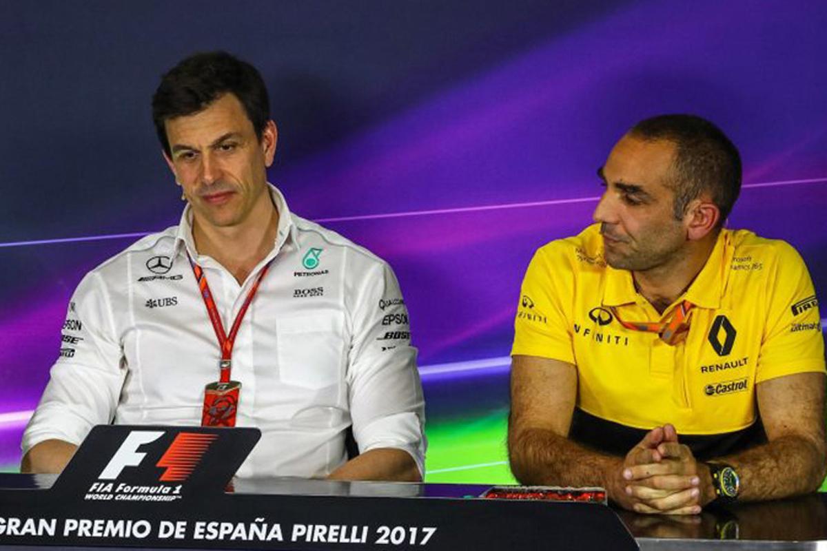 F1レギュレーション 国際自動車連盟 ルノー メルセデス・ベンツ F1