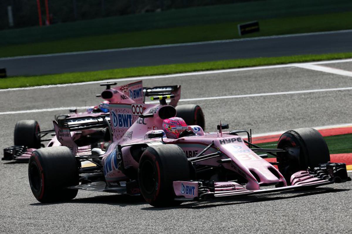 フォース・インディア F1 セルジオ・ペレス エステバン・オコン