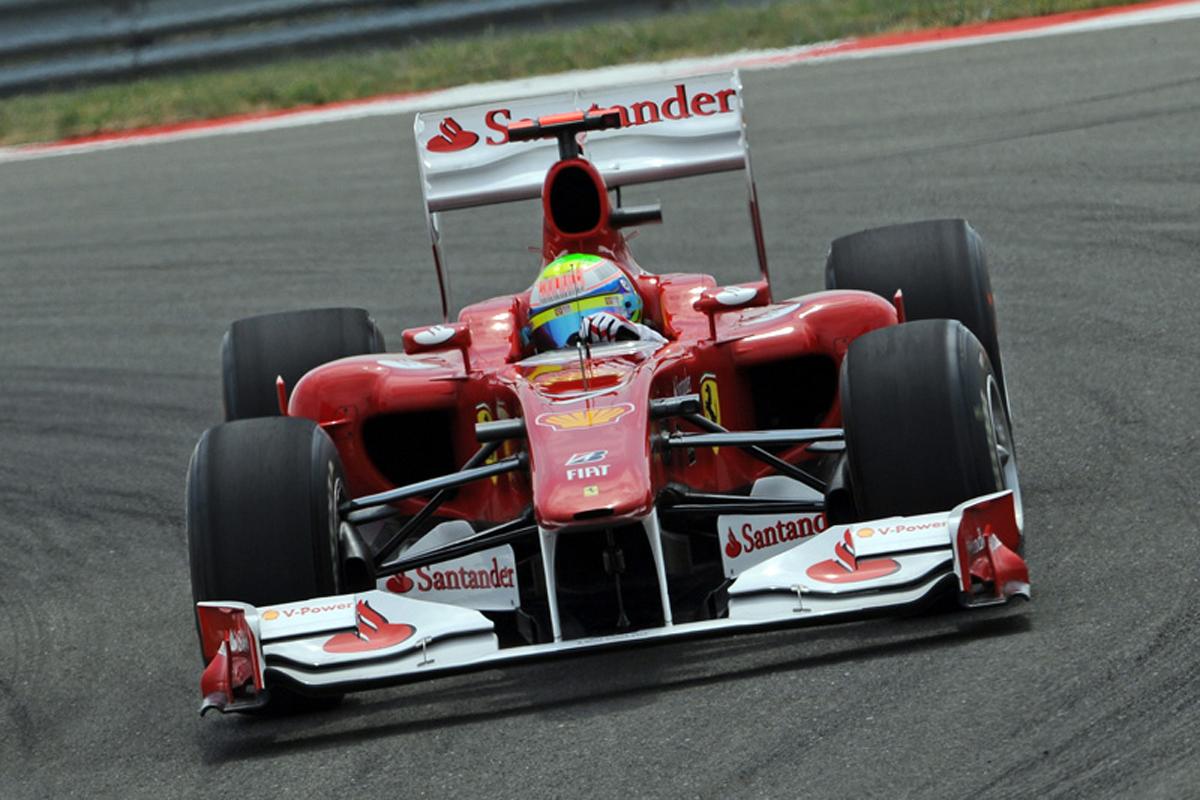 フェラーリ F10