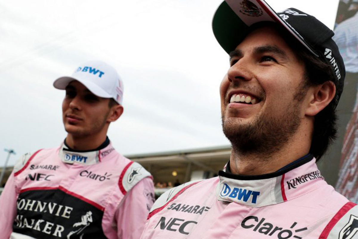 セルジオ・ペレス エステバン・オコン フォース・インディア F1