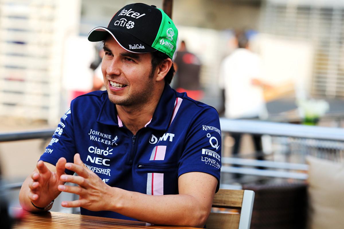 セルジオ・ペレス フォース・インディア F1 ブラジルグランプリ