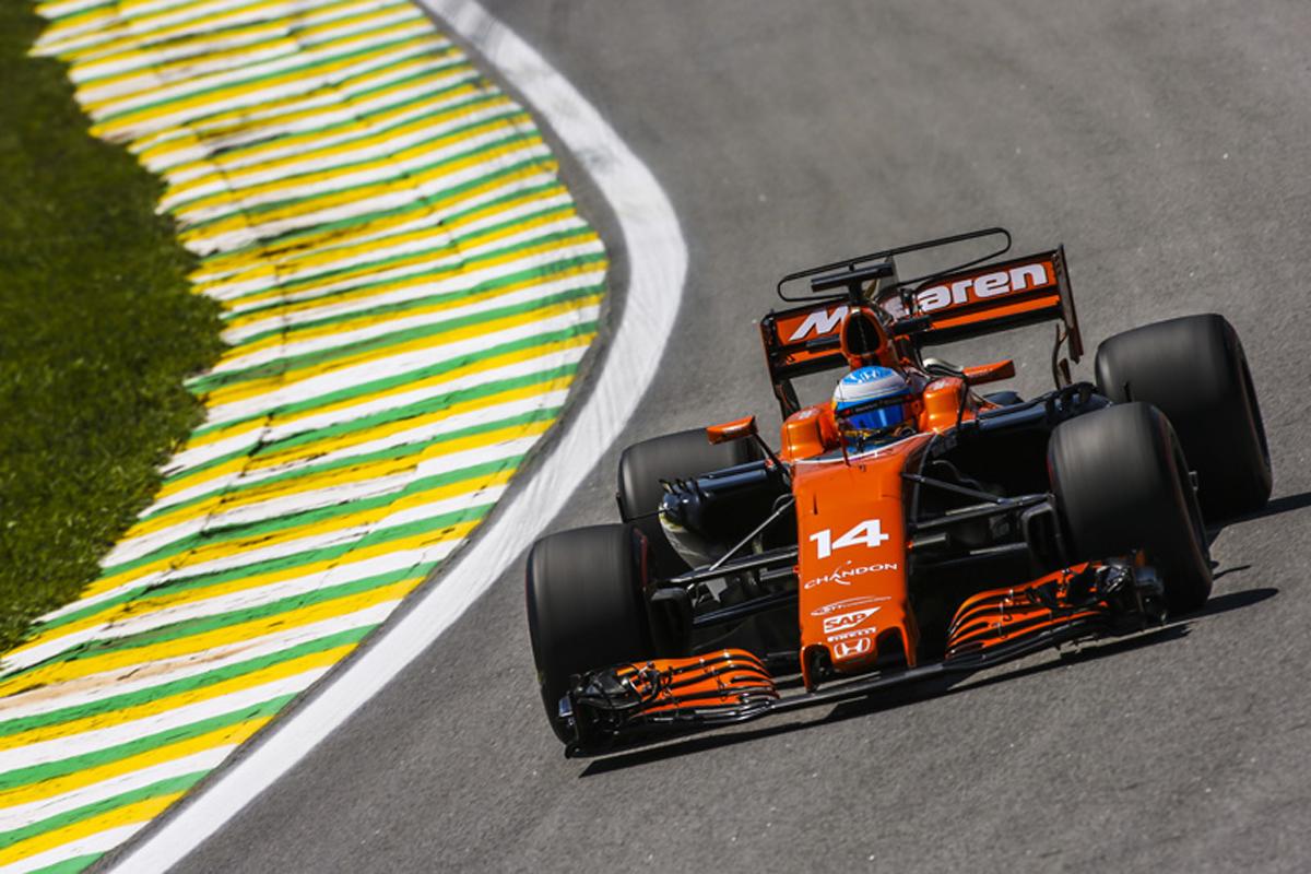 マクラーレン ホンダF1 ブラジルグランプリ フェルナンド・アロンソ