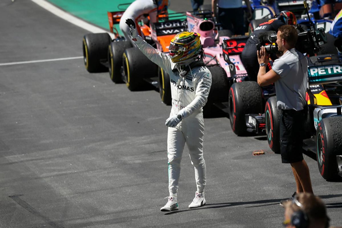 バルテリ・ボッタス ルイス・ハミルトン メルセデスAMG F1 ブラジルグランプリ