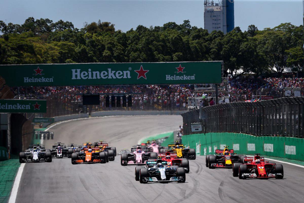 ルイス・ハミルトン バルテリ・ボッタス セバスチャン・ベッテル F1 ブラジルグランプリ
