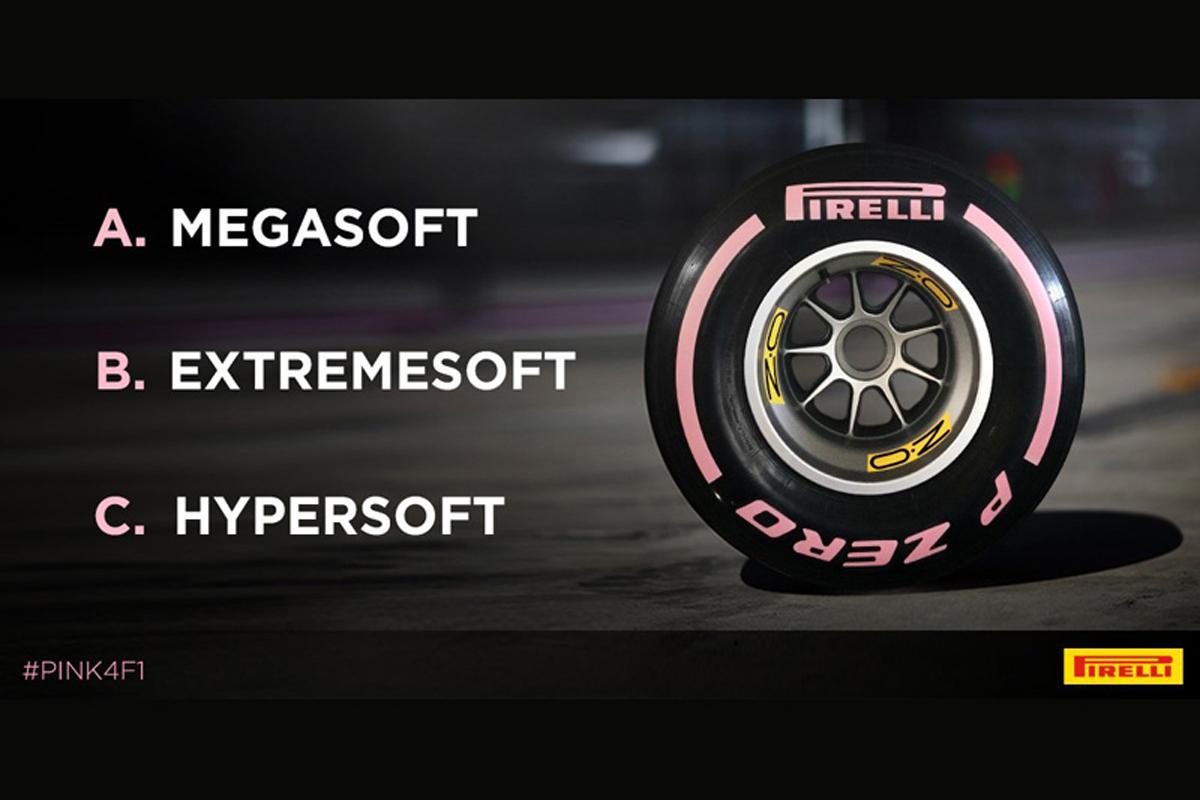 F1 タイヤ ピレリ
