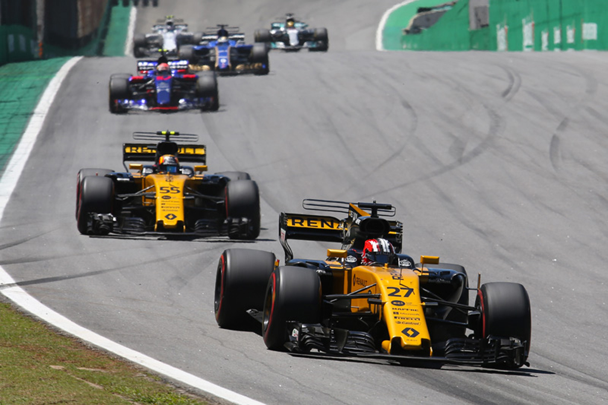ルノーF1 F1 ブラジルグランプリ