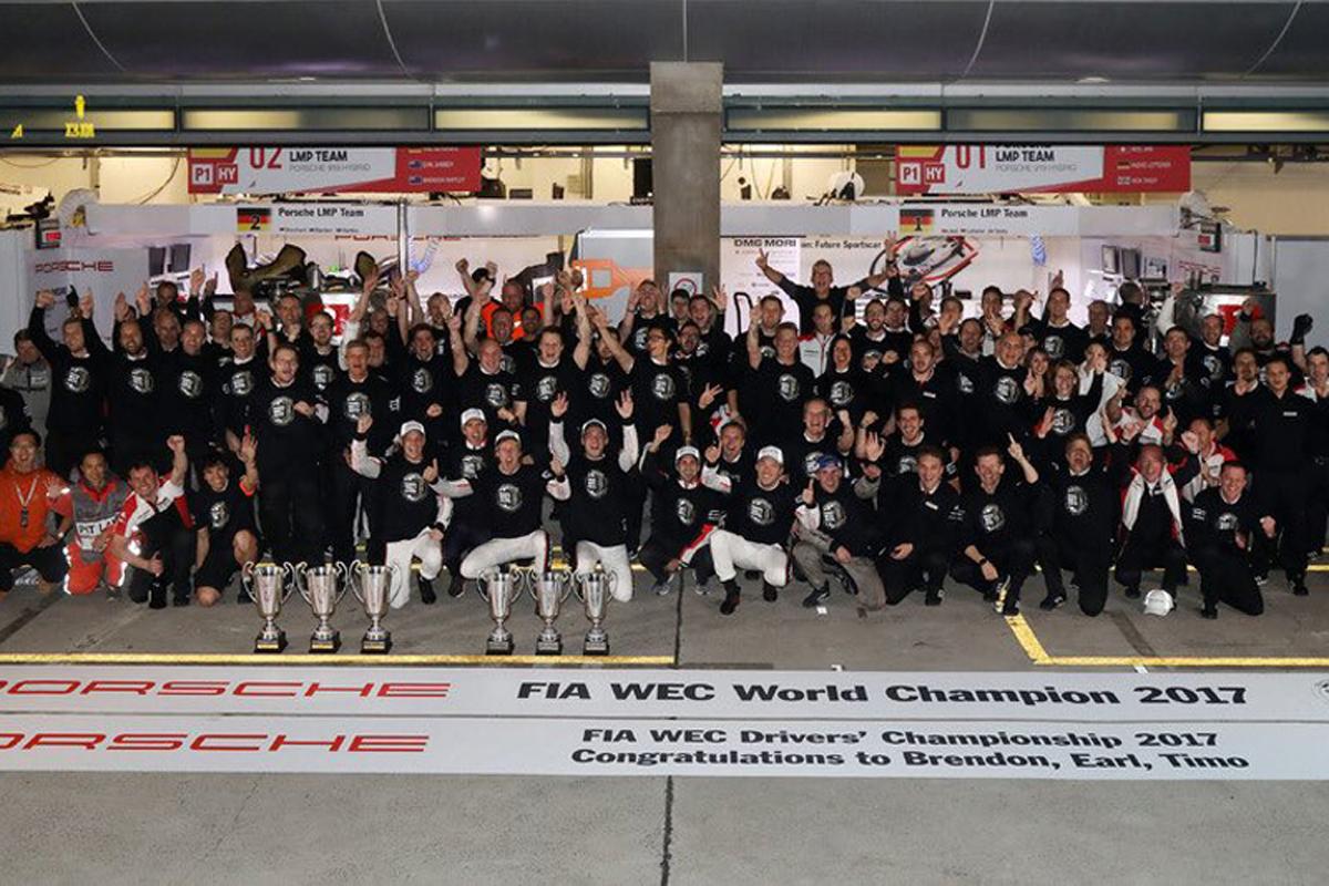 FIA 世界耐久選手権 ポルシェ WEC