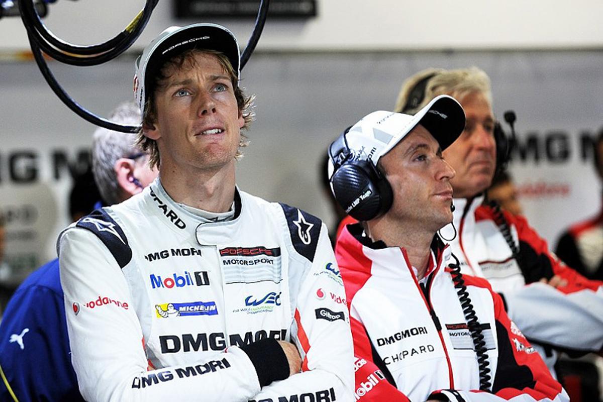ブレンドン・ハートレー ポルシェ スクーデリア・トロ・ロッソ FIA 世界耐久選手権