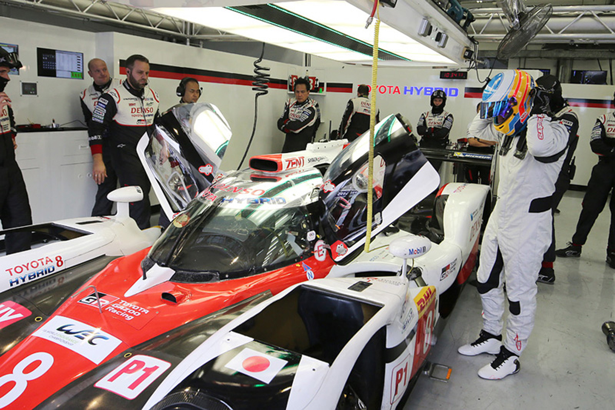 フェルナンド・アロンソ トヨタ自動車 FIA 世界耐久選手権
