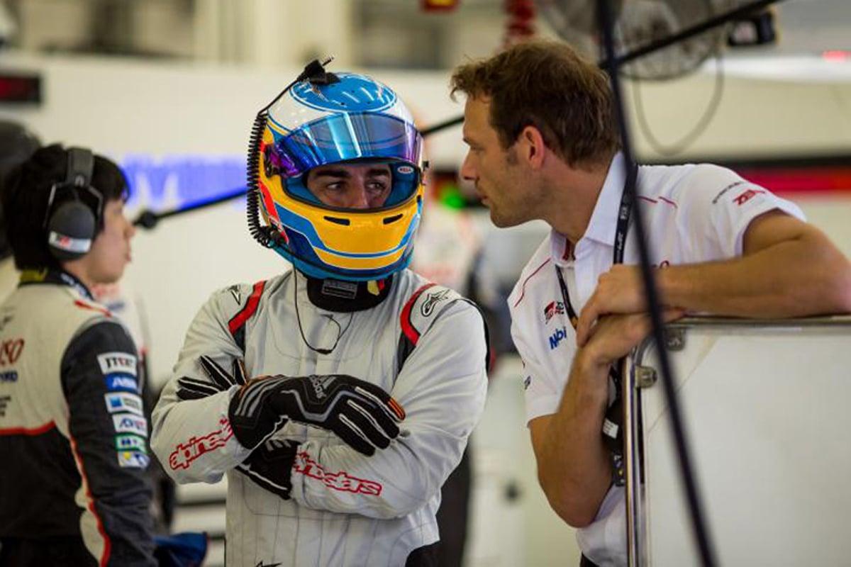 FIA 世界耐久選手権 トヨタ自動車 フェルナンド・アロンソ