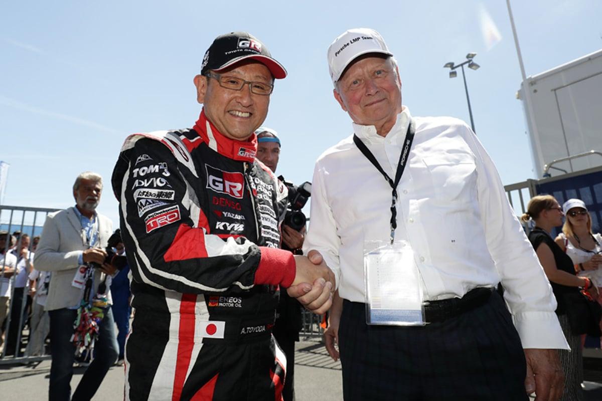 トヨタ自動車 FIA 世界耐久選手権 世界ラリー選手権