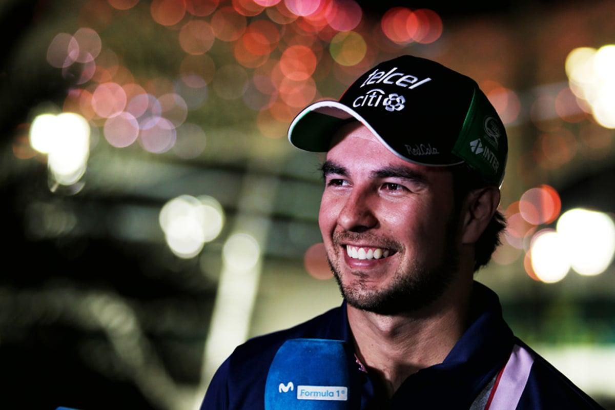 セルジオ・ペレス F1 アブダビグランプリ フォース・インディア