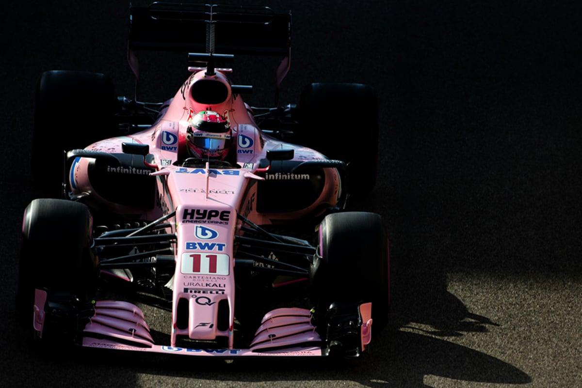 フォース・インディア F1 アブダビグランプリ
