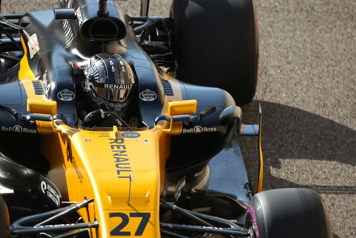 ルノー F1 アブダビグランプリ