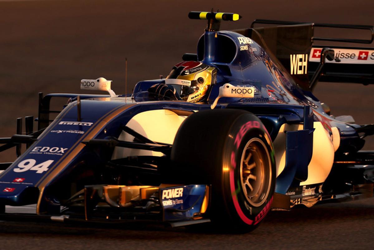 ザウバー F1 アブダビグランプリ 予選